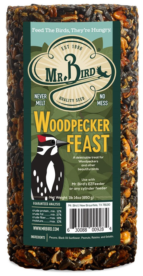 Mr. Bird Woodpecker Feast